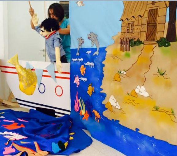 מועדון שוקו: הצגת הדייג ודג הזהב